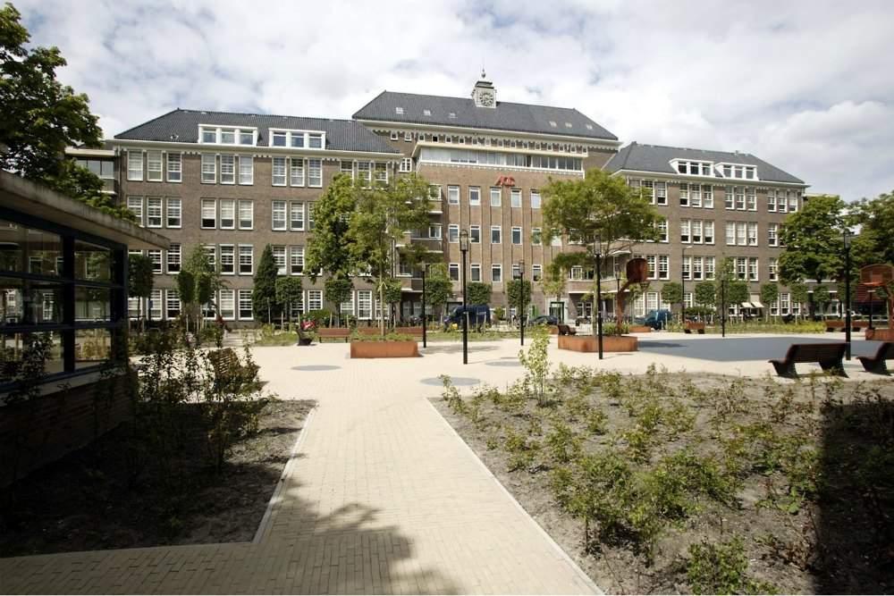 Kantoor Unie van vrijwilligers Amsterdam
