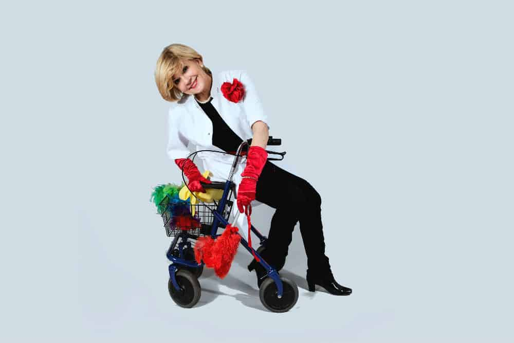 Rollator oefeningen met Marja Middeldorp