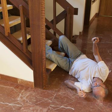 Vaker hoofdletsel bij ouderen door een val