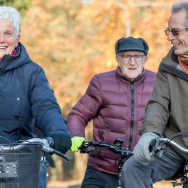 Wie is de oudste fietser van Nederland?