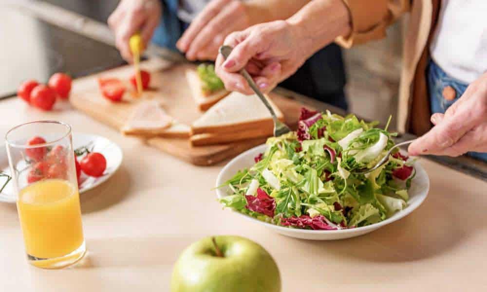 Voldoende voedingsstoffen eten