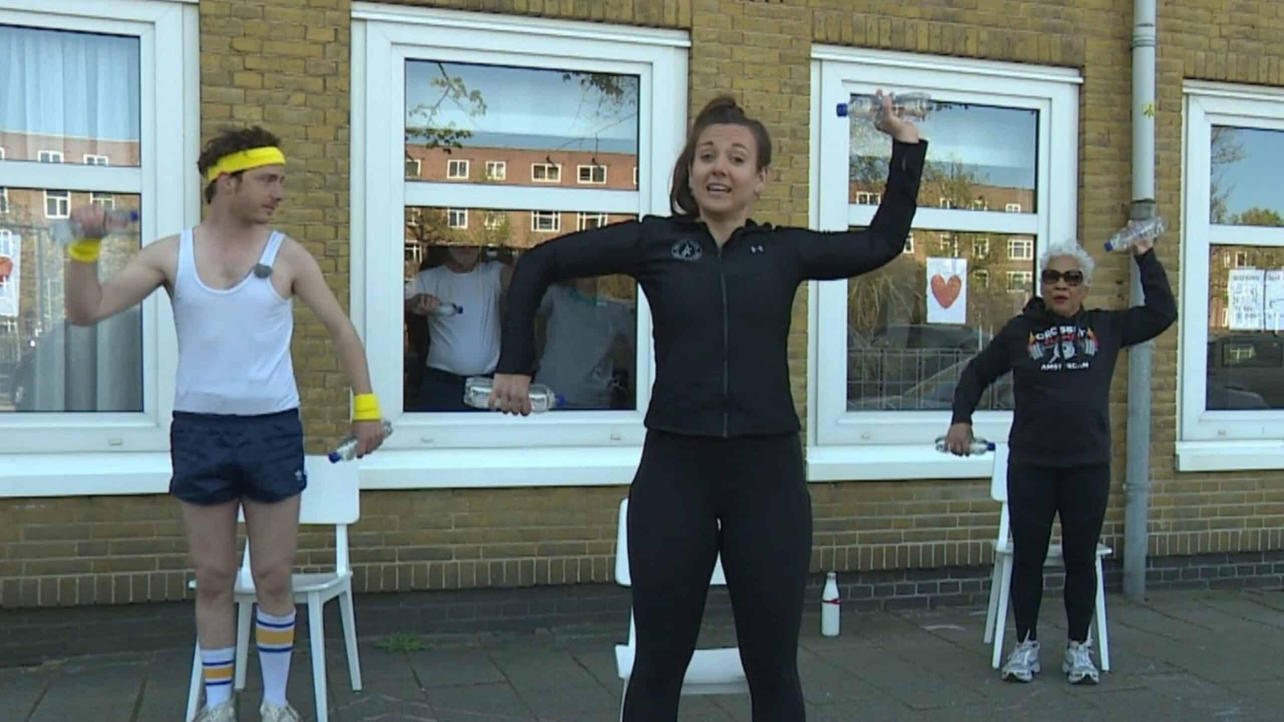 Amsterdammers blijven fit in tijden van Corona